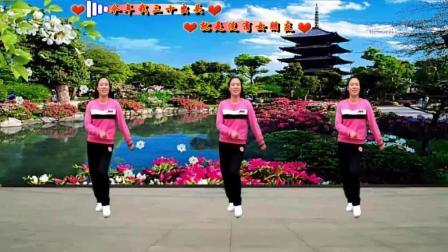 代玉广场舞《三十出头》原创自由舞32步长发飘飘版