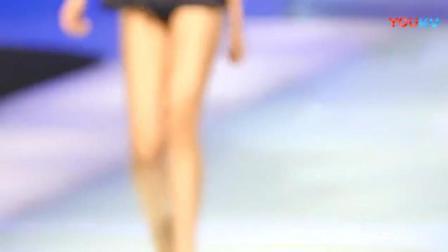 模特大赛泳装专场, 模特都是大长腿, 感觉9号选手不错_超清