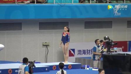2017全运会体操资格赛刘婷婷平衡木 世界级水平的动作