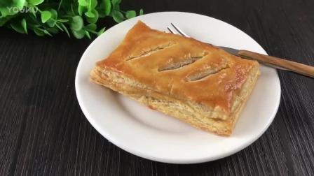 烘焙蛋挞视频免费教程 千层肉松派的制作方法bn0 君之烘焙肉松面包的做法视频教程