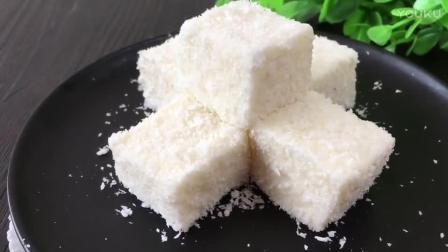 烘焙玫瑰花视频教程 椰奶小方的制作方法xp0 烘焙面包加工视频教程