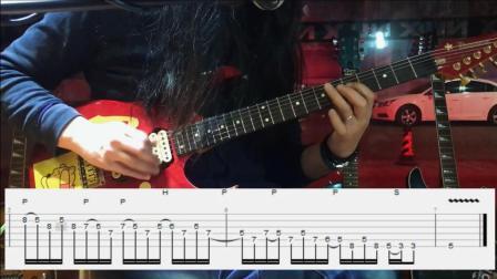 电吉他微教学10《a小调五声音阶实战运用》吉他饭饭君