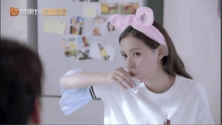 《亲爱的王子大人》张予曦喝酸奶被嫌弃, 姜昊给她表演明星式喝酸奶, 太恶心了!