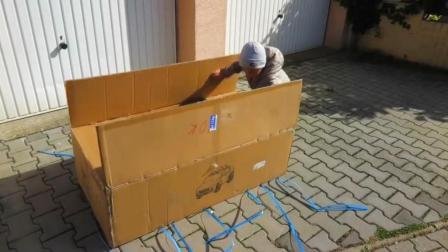 3岁小孩网购一台玛莎拉蒂SUV到货了, 打开盒子后才霸气才刚刚开始