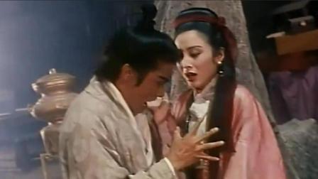 梁家辉和张敏演戏太拼了, 梁家辉竟然要袭张敏的胸, 这才恶心到坏蛋