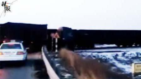 唐山货车和火车相撞 无人员伤亡