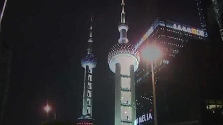 璀璨夜景-上海东方明珠电视塔