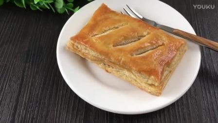 烘焙刮花视频教程 千层肉松派的制作方法bn0 小蛋糕烘焙视频教程