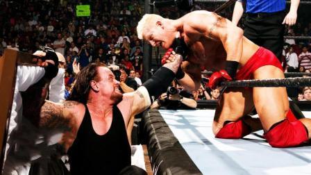 WWE送葬者, 这个从不说话的男人, 用出所有绝招暴揍壮汉!