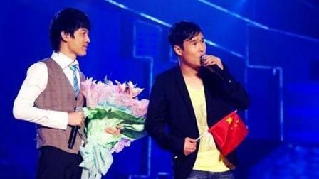 小沈阳又来了, 与周华健对唱这首歌火爆全场, 唱功堪比当红歌手