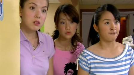 直树在医院太受欢迎了, 三个女生在门外看得一脸懵