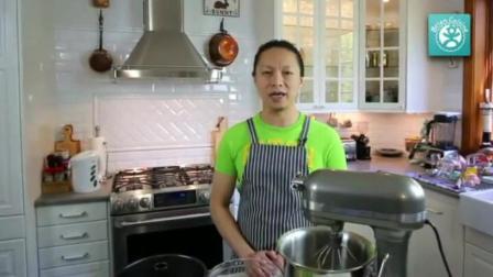 刘清烘焙学校 生日蛋糕简单裱花 西点烘焙短期培训班