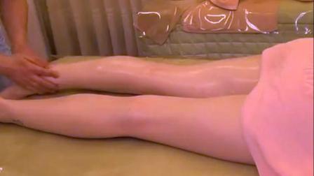日本流行的腿部精油按摩, 真的是太舒服了好想体验一下