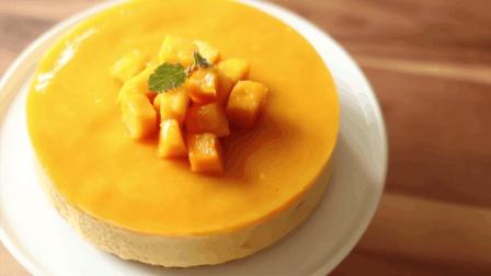 芒果慕斯蛋糕这样做, 你一定没试过, 更简单更实用!
