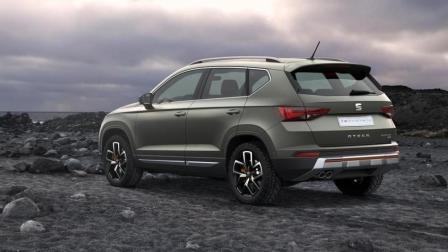 亲民版途观, 西雅特Ateca推出全新SUV, 13万起售, 没把哈弗放眼里