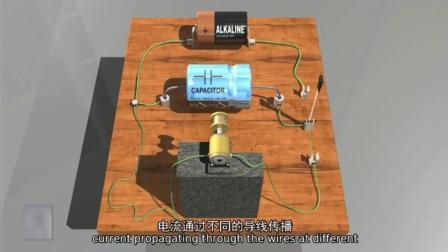 看这里电容器的工作原理视频