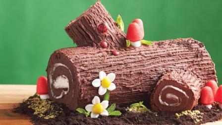 来做个萌萌哒小森林蛋糕吧