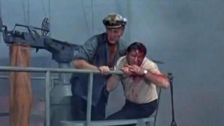 德军潜艇遭美军战舰撞毁士兵弃船, 可狡猾的德军在潜艇里安装了水雷
