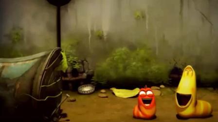《爆笑虫子》黄虫红虫偷吃蜜蜂的蜂蜜, 结果被人家叮成了猪头