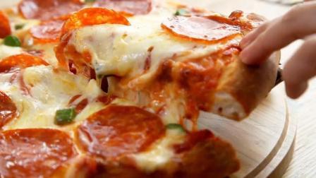 地方特色拉丝披萨, 萨拉米披萨