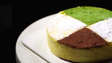 一盒酸奶一碗面粉, 不用烤箱, 简单蒸一蒸, 比芝士蛋糕都松软绵密