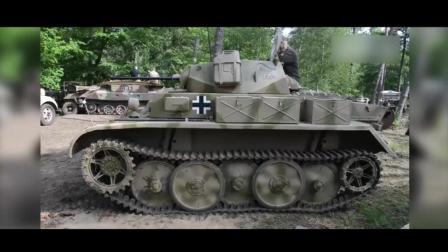"""有啥能比开坦克兜风更潇洒? 二号L""""山猫""""遛弯把路虎秒成渣!"""