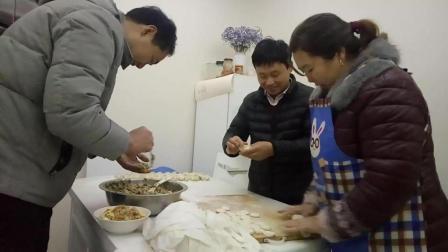 大吃货爱吃美食 家常饺子包法的做法视频