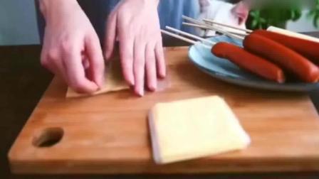 超级好吃的芝士火腿肠! 做法简单还超有创意! 吃货的味蕾炸了要!