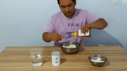 钓鱼: 用馒头蜂蜜就可以制作的鱼饵, 简单实用, 钓鲤鱼草鱼效果很好