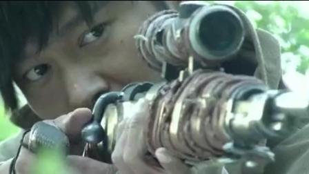 日军女特工竟想背后放黑枪, 暗藏的狙击手一枪灭了她