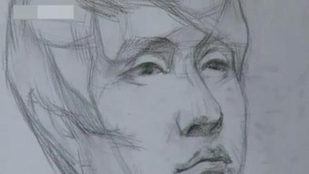 素描头像女生简单可爱 学素描的步骤 铅笔画教程动漫女