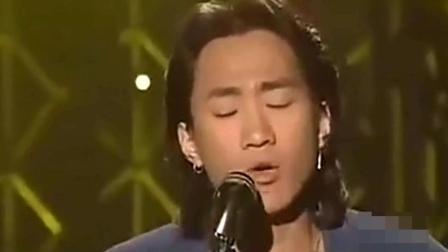 黄家驹演唱《海阔天空》, 台下四大天王听了纷纷起立鼓掌!