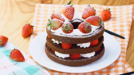 教你做一款人人都爱, 颜值爆表的草莓蛋糕!