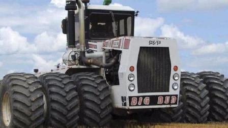 世界最贵拖拉机, 装了16缸发动机, 每小时耕360亩地, 身价2000万