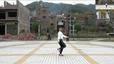鬼步舞花式6连3分解 中年人鬼步舞教学 一步一步教鬼步舞分解曳步舞教学基础舞步