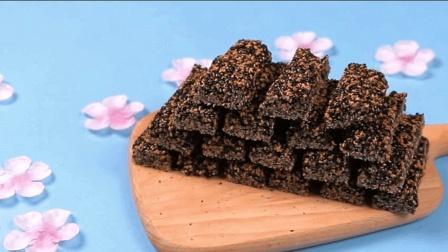 小时候的回忆, 过年必备的小点心, 三步就可做出的香酥甜脆芝麻糖