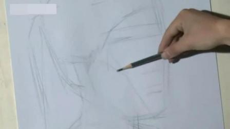 速写人物五官画法 简单建筑速写入门 素描入门基础画图片