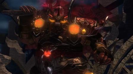 【白君解说】刀剑神域,虚空幻界EP5第一区域boss现身