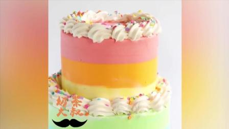 漂亮好吃的奶油水果蛋糕我要吃两个