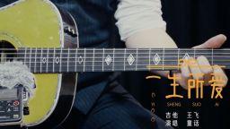 玩易吉他弹唱教程 卢冠廷《一生所爱》王飞&童话