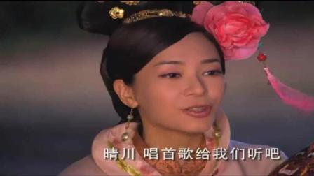 《宫》: 妃子让杨幂唱歌, 杨幂唱了一首现代歌, 连皇上都听醉了!