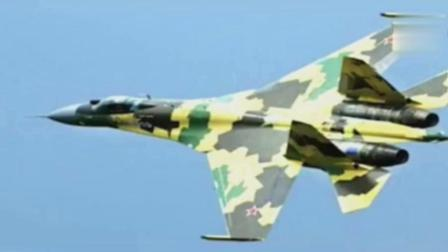 2018中国空军不得了, 只看到第一个战机的数量就震撼到了!