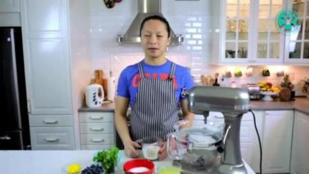 学习做蛋糕的方法 零起点学做烘焙糕点 裱花基础教程