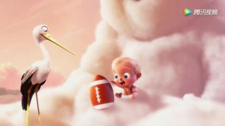 皮克斯动画短片《暴力云与送子鹳》