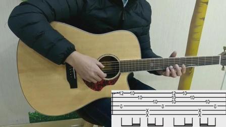 【视频教学】《Careless Whisper》(无心快语)指弹教学第一部分【北尚吉他】