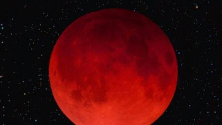 今晚我国惊现百年一遇红月亮! 那你知道月亮跟月经其实也有关吗?