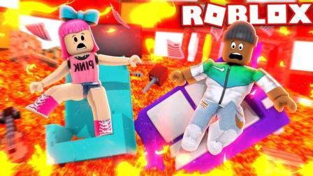 【Roblox新版灾害模拟器】无敌法杖挑战BOSS! 危情时速勇往直前! 小格解说 乐高小游戏