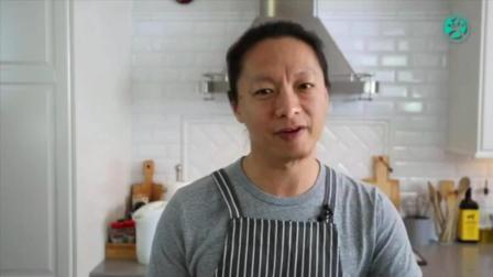 君之8寸戚风蛋糕的做法 家庭烘焙培训 大连烘焙培训