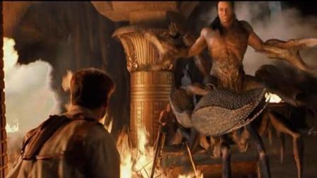 《木乃伊归来》蝎子王巨石强森霸气复活,场面刺激火爆了