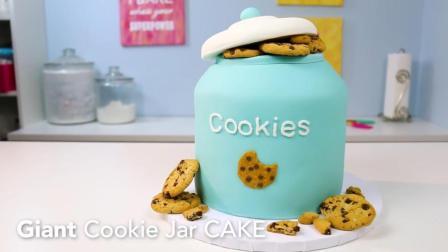 教你用趣多多做出造型独特的巨型饼干罐蛋糕, 制作方法超级简单